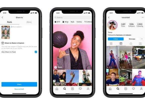 Instagram Reels: partita la sfida a TikTok
